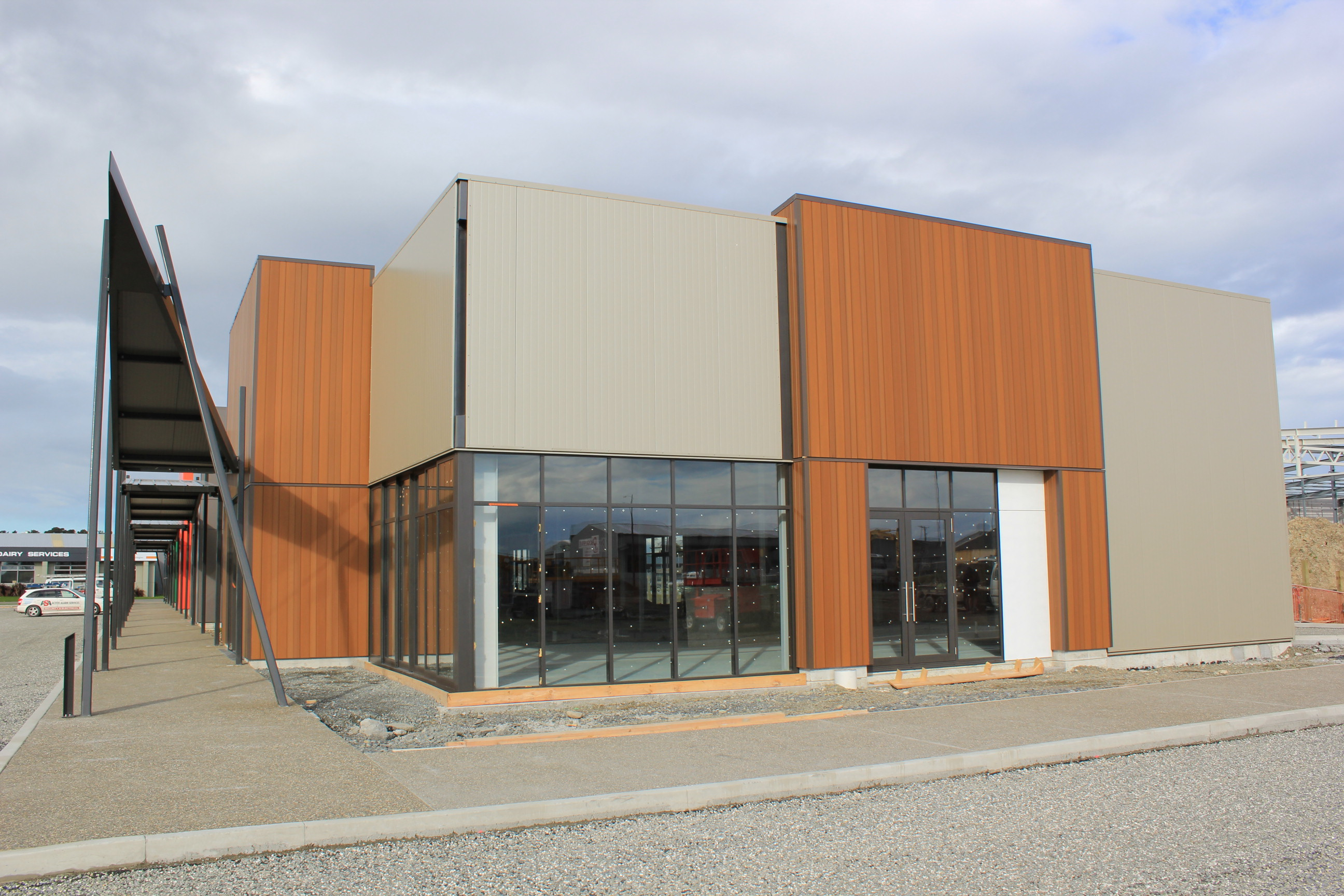 Arena Avenue Projects Sps Building New Zealand